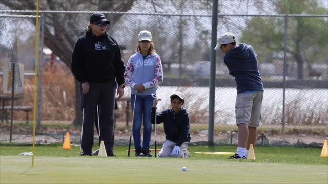 Kristi Albers, former LPGA member and Executive Director of The 1st Tee Greater El Paso begins her 10th year with this weeks Spring Break Camp at Ascarate Golf Course.
