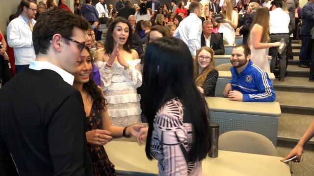 After four years of medical school at the Paul L. Foster School of Medicine (PLFSOM) 90 students found out where they will go for their medical residencies today during the 2018 Match Day Ceremony.