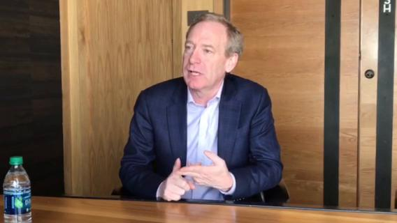 Microsoft President Brad Smith talks about El Paso's inclusion in its TechSpark program.
