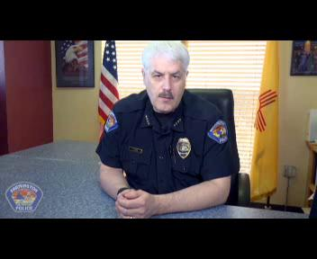 The Farmington Police department released footage Thursday from a SWAT officer'sbody camera that recorded the March 6 incident.