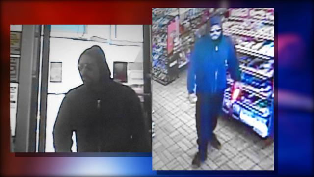 Armed gas station robber is wanted by police