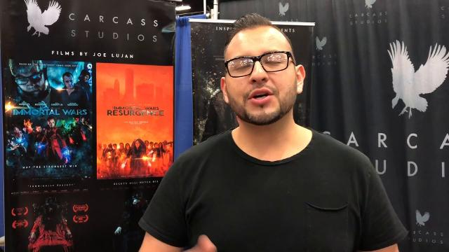 El Pasoan Joe Lujan, talks about his work as a director, writer and producer while attending El Paso Comic Con this weekend. Lujan has directed movies Rust, Afflict and his Trilogy Immortal Wars.