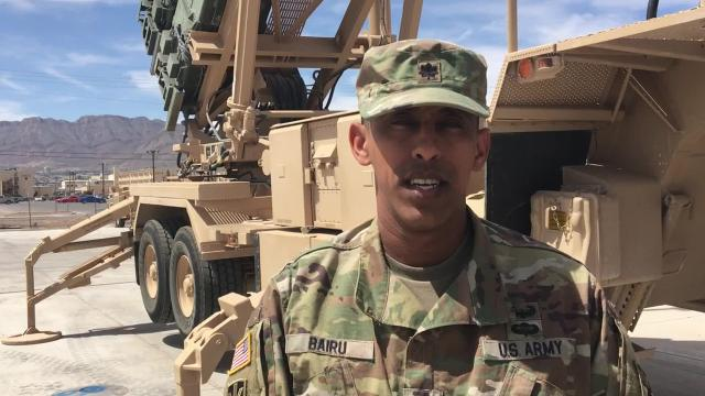 Lt. Col. Bairu happy to be back at Fort Bliss, leading Legion Battalion