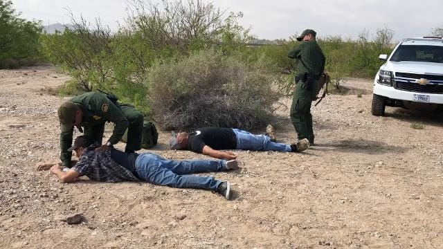 Representatives from various agencies met in the desert area in Sunland Park, N.M. during the 21st Annual Border Safety Initiative (BSI) awareness campaign. The event included a simulated rescue demonstration by Border Patrol Agents.