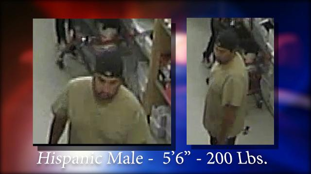 El Paso police searching for man who allegedly flashed a child