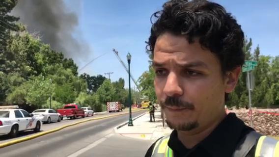 Montoya Road House Fire Tuesday
