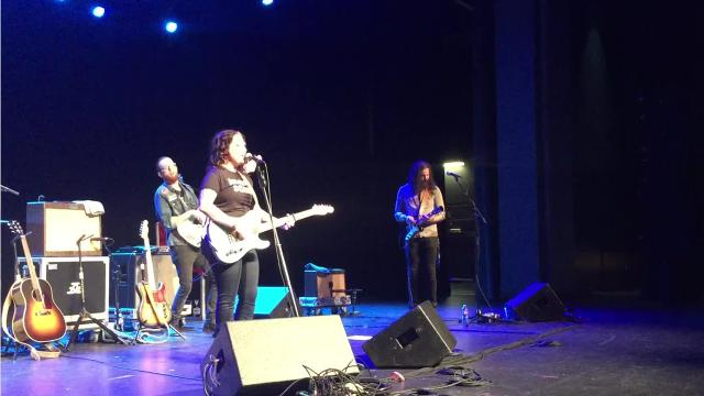 Country singer Ashley McBryde performs at Arkansas State University-Mountain Home.