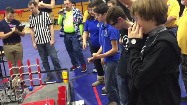 The Mountain Home Junior High School played host Saturday morning to 33 Arkansas teams during this year's Arkansas FIRST - For Inspiration and Recognition of Science and Technology - Tech Challenge (FTC) Championship.