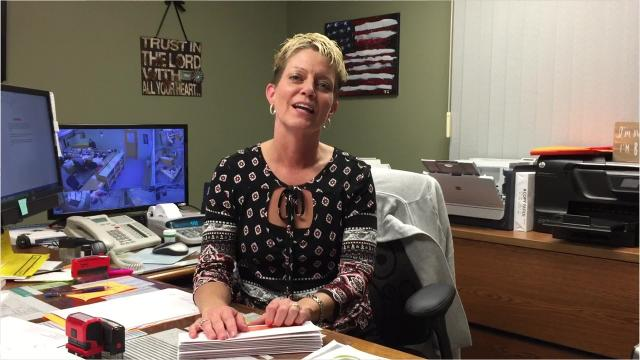 Baxter County Collector Teresa Smith talks about a recent decision by the court-appointed receiver for the Ozark Mountain Solid Waste District to waive an $18 trash fee on parcels of land containing private boat docks, cell towers or billboards.