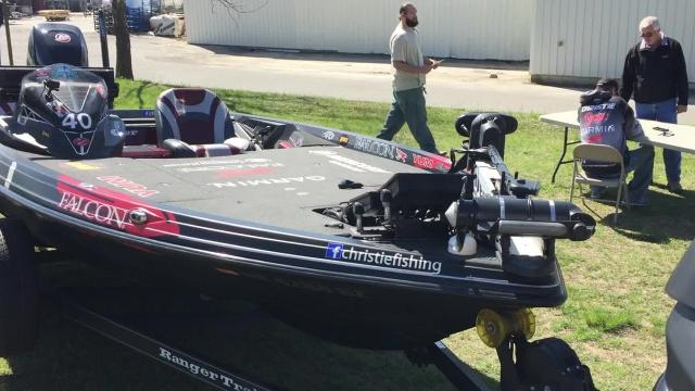Anglers fishing from Ranger Boats swept the top five spots at the 2018 Bassmaster Classic. Four of those boats were on display Friday, April 20. at Ranger Boats in Flippin. These boats are 2018 Ranger Z520L Comanches.