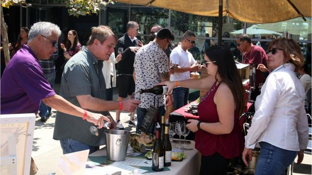 The Food & Wine Festival returned on Saturday for the seventh year, with promises to top all others.