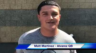 Second-year head coach Brad Mendes gives his thoughts on what to expect from the Alvarez Eagles this year.