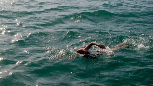 Amy Cheatham Hayes is one of only 1,767 in the history of the world to swim across the English Channel.