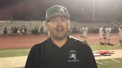 Highlights and interviews from Alvarez's 32-13 win over Alisal