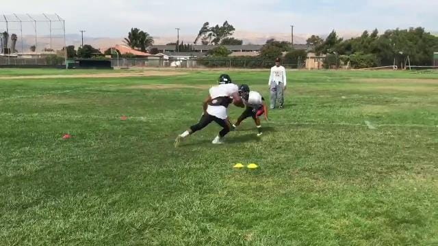 Interview with Gonzales head coach Art Berlanga and players as they prepare for their latest battle with rival King City.