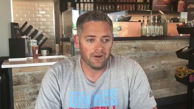 North Salinas head coach Seth Goodman touches on a few topics as he enters his first season as the Vikings' varsity baseball coach.