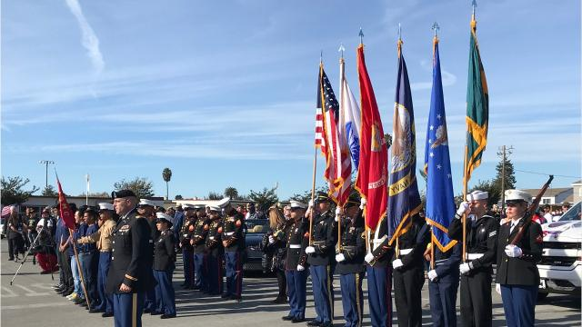 2017 Veterans Day Parade in Salinas