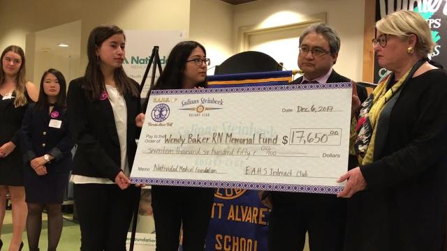 Salinas students raised $17k for breast cancer