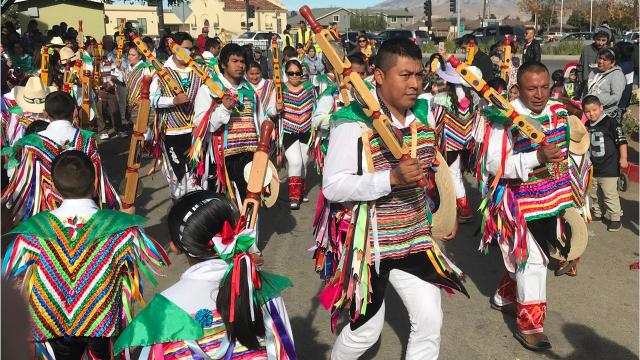 Celebrations in Greenfield for Fr. Herrera and La Virgin de Guadelupe