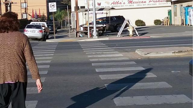 The crash threw Leon 80-feet-away from the crosswalk and her daughter 91-feet-away.