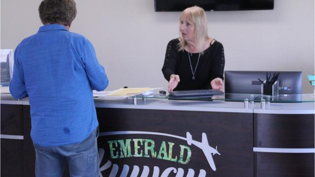 Go inside Salinas' first recreational marijuana store at Emerald Skyways, 1610 Moffett St.