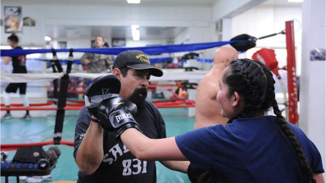 Salinas Boxing Club serving the youth