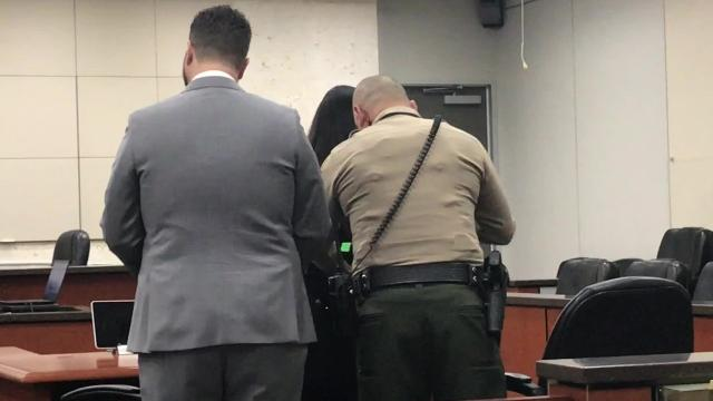 Former probation officer Sonia Cano was taken into custody at her sentencing Wednesday in a fatal hit-and-run crash. She will serve a year in jail.