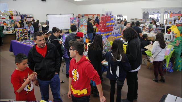 All ages turned out for the first Salinas Anime-Comic Con, hosted by Ohana Comic Con.