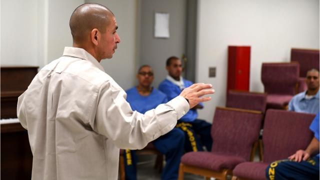 Ex-con helps prepare inmates for life after prison