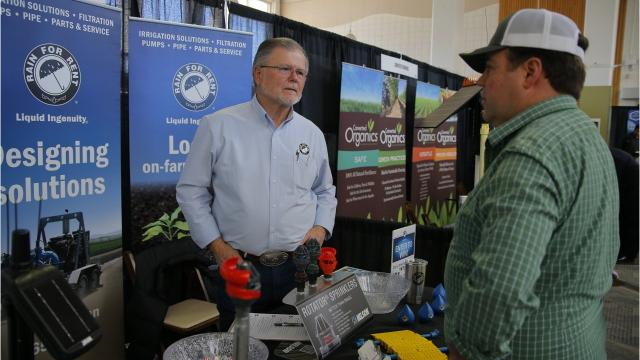 Hundreds gathered for the fifth annual Salinas Valley Ag Tech Summit on March 28, 2018, at the Hartnell College main campus.