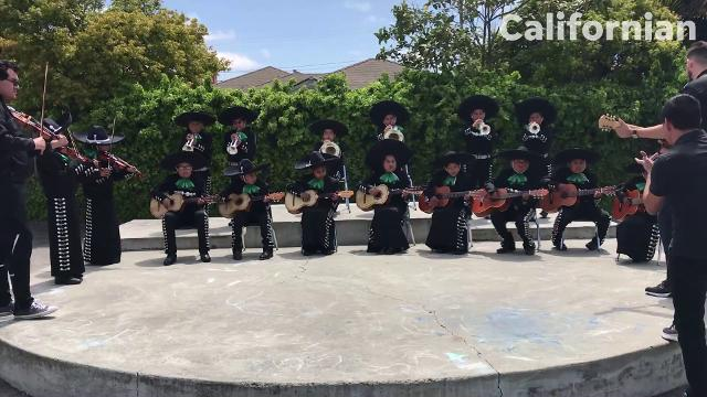 Mariachi academy arrives at the Alisal Union School District.