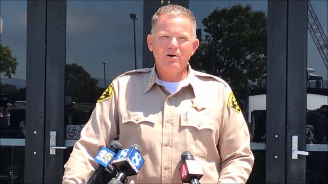 Monterey County Sheriff Steve Bernal shares what those seven days were like for Angela Hernandez, who survived seven days between a cliff and the Pacific Ocean after crashing down a hillside in Big Sur