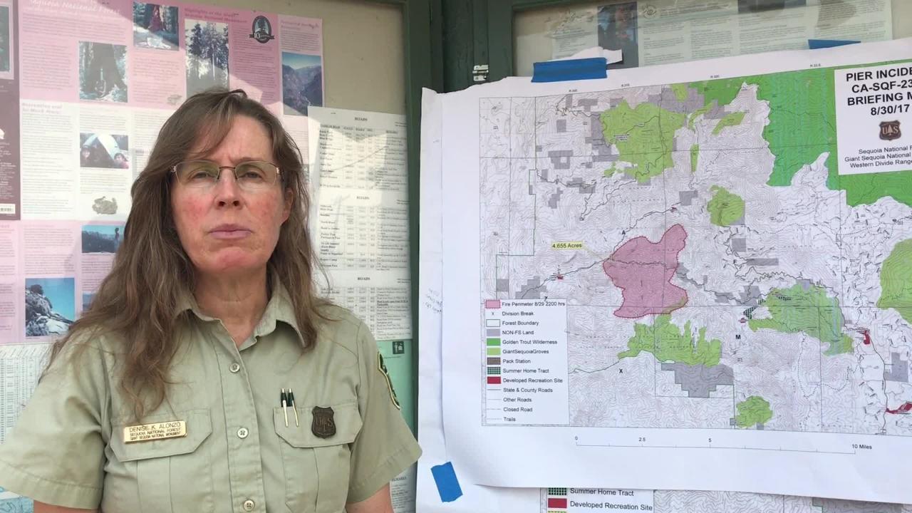VIDEO: Springville fire destroys 4,655 acres