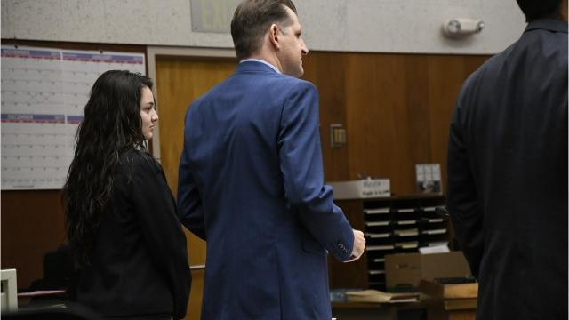 The 18-year-old Visalia woman is accused of intentionally slamming her car into 35-year-old Eric Fisher.
