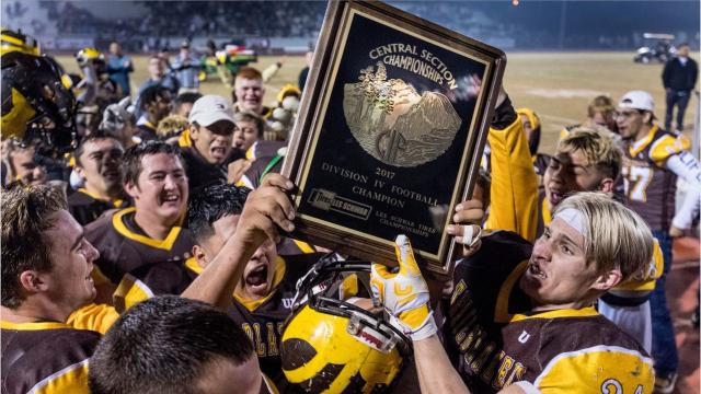 The Golden West Trailblazers' football team captured its first Central Section title in program history.