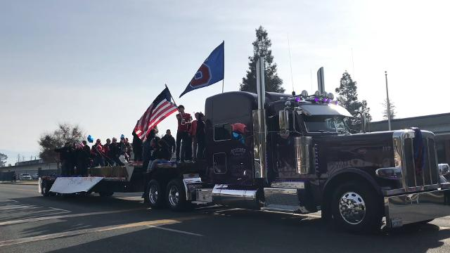 A parade was held in honor of the 2017 CIF State Champions on Saturday, Dec. 23