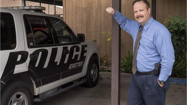 John Hall was named Exeter's police chief on Jan. 9.