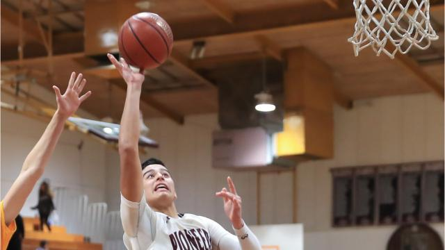 Anthony Valencia became the first Mt. Whitney player since Will Nelson (1,642 points, 2009-12) to eclipse 1,000 career points.