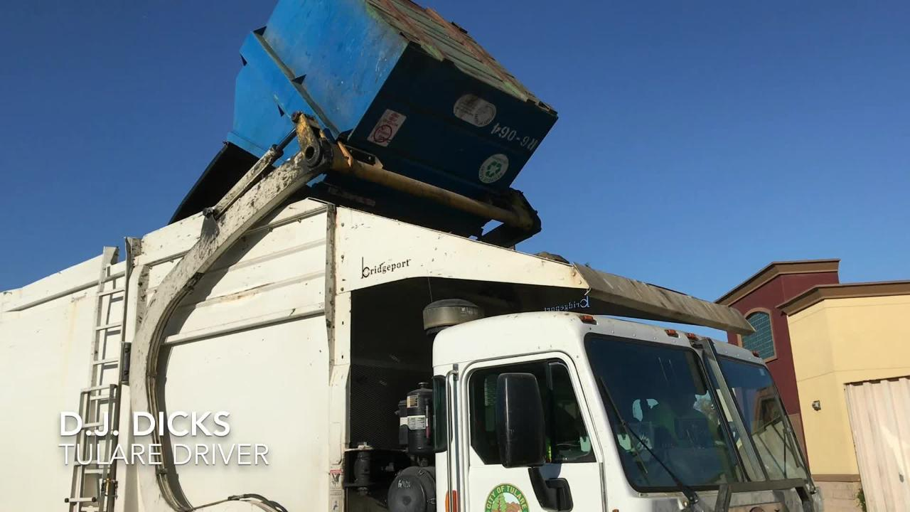 Citing a recently-completed study, Tulare city administrators are calling for an increase in commercial trash service. Solid waste also picks up recycling materials.