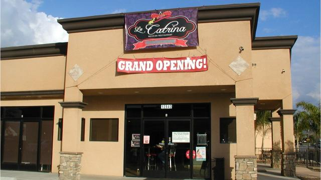 Mexico's Day of the Dead inspired Orosi native Adriana Ortega to name her new restaurant after that holiday's central cultural figure, La Catrina, the skeleton lady.