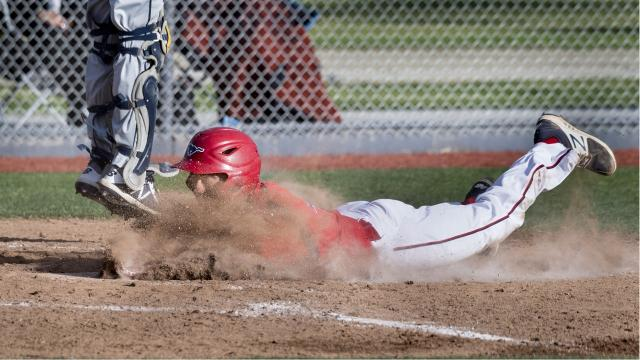 Tulare Western's David Alcantar hit two home runs in the Mustangs' win over Delano.