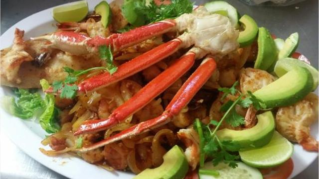 Miguel and his wife Guillermina, who bought Taqueria Ana Maria in Farmersville two years ago, have updated the menu with new seafood dishes that included crab and lobster.