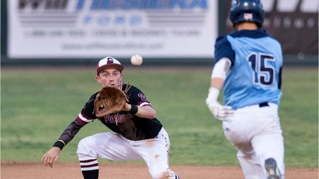 Mt. Whitney defeated Redwood on Friday to deny the Rangers a share of the West Yosemite League baseball title.