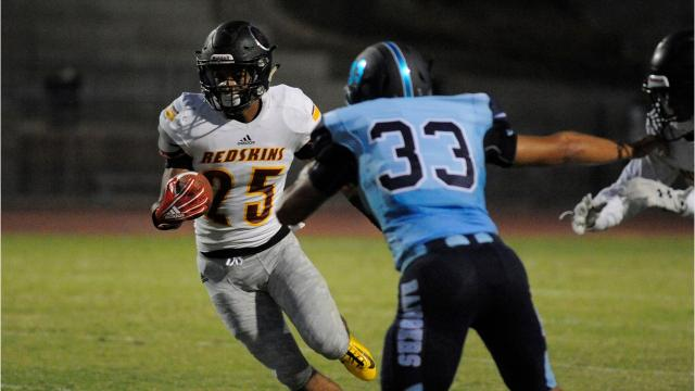 Tulare Union defeated Redwood in a non-league high school football game.