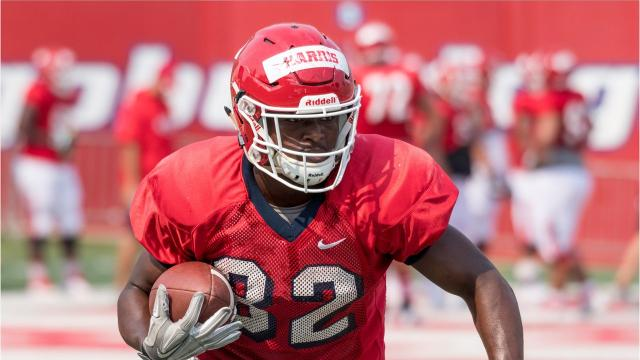 Romello Harris is a running back for the Fresno State Bulldogs' football team.