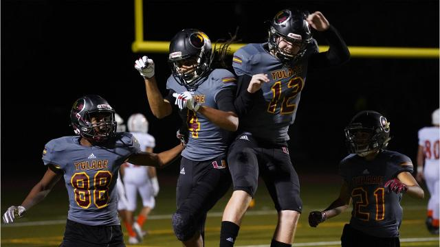 Who is atop the Visalia Times-Delta's Cream of the Crop Week 10 Power Football Rankings?