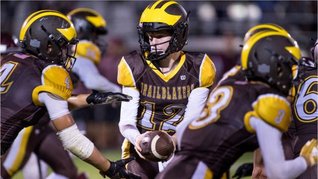 Golden West defeated Kerman in a Central Section Division IV quarterfinal high school playoff football game.