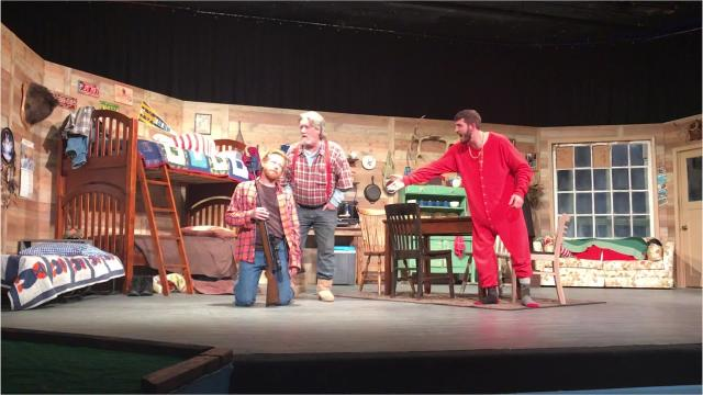 """A hunting lodge is the setting for """"Escanaba in Da Moonlight,"""" the latest Visalia Community Players' production opening Dec. 2 and playing to Dec. 2."""
