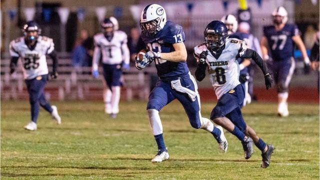 The Central Valley Christian High football team is making history.