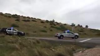 Raw: multiple crashes on Centennial Drive near Horsetooth Reservoir